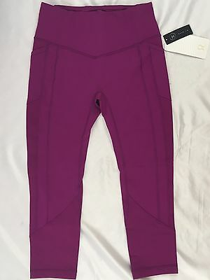 Lululemon Women's Athletic All The Right Places Crop II LUXTREME REGP Purple 10