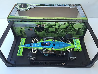 Ryan Hunter-Reay, Hand Signed,  1/18 Scale Diecast By Greenlight Rookie Of Year