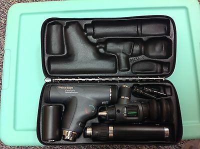 New Welch Allyn HALOGEN PANOPTIC and OTOSCOPE/THROAT ILLUMINATOR SET