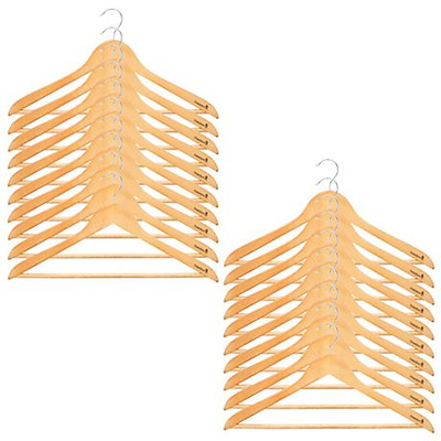 NEW Natural COUTURE set of 20 coat hanger By Freedom