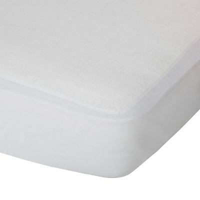 NEW White FREEDOM double mattress protector waterproof