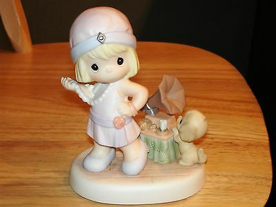"""Precious Moments Tuning In To Happy Times Figurine #4001669 -- 5 3/8"""""""