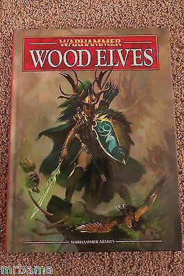Warhammer Wood Elves Hc Manual Very Rare Gw Citadel