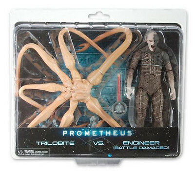 PROMETHEUS - Trilobite vs Engineer Action Figure 2-Pack (NECA) #NEW