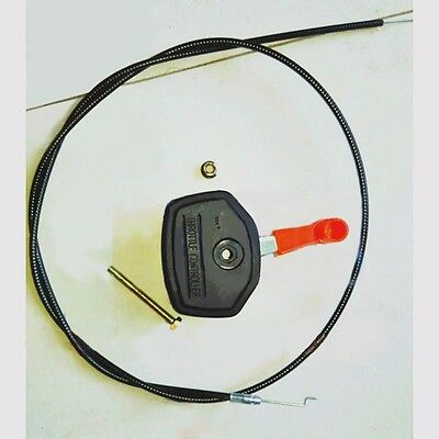 Throttle Cable and Lever Control Fit for Many Lawnmowers Lawn Mower