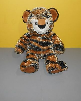"2009 Princess Soft Toys 10"" Bengal Tiger Cub Stuffed Bean Tush Plush So Soft"