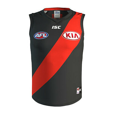 Essendon Bombers AFL 2017 Home ISC Guernsey Jersey Adults, Kids & Toddlers Sizes