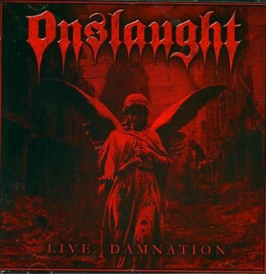 Live Damnation by Onslaught (CD+ DVD ) DUAL DISC