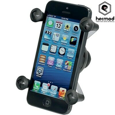 "Ram Mount Motorcycle Universal X-Grip GPS SAT Nav Phone Holder with 1"" Ball"