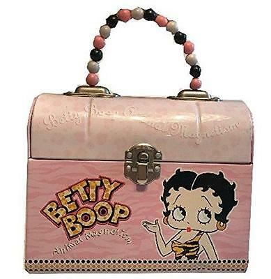 Small Red Betty Boop Lunch Box Style Tin Box - Betty Boop Tin Box
