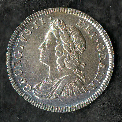 George II Maundy Fourpence Silver 1740 Small Head