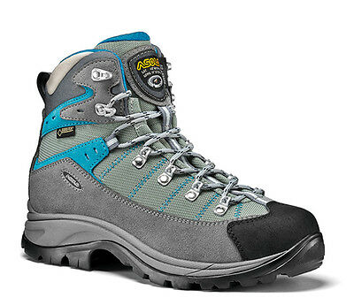 Asolo Women's Revert GORE-TEX Hiking Boots (Donkey/Blue)