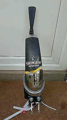 Strongbow Beer Pump Cider Tap Font Mancave BBQ Bar Party FREE P&P