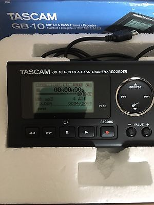 Tascam GB-10 Guitar and Bass Trainer/Recorder 16GB card