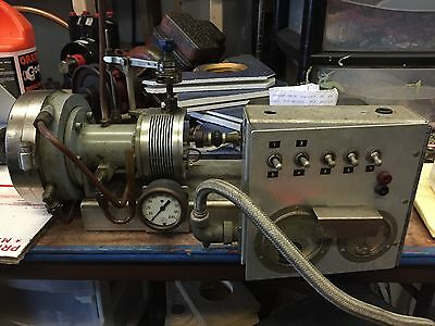Turbine 12 v generator Governor Traction Genset Live Steam Train Will ship Offer