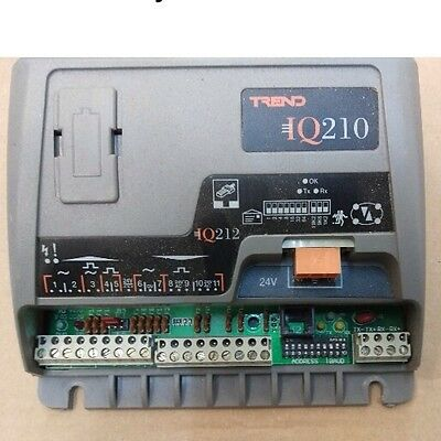 Trend IQ 212 24v control with VAV strategy. Used working controller