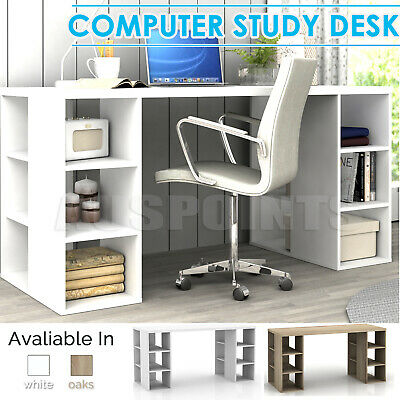 Bookcase Shelves home Office Computer Desk study Table 6 Storage Shelf RRP$399