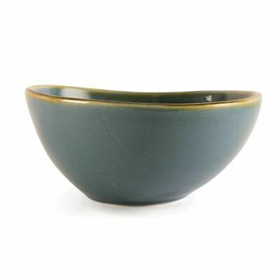 Olympia Kiln Ocean Bowls with Hand Painted Rim Dishwasher Safe 215mm Pack of 4