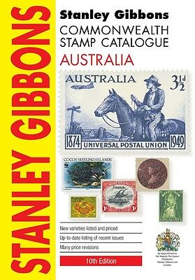 STANLEY GIBBONS COMMONWEALTH STAMP CATALOGUE AUSTRALIA 10th Ed