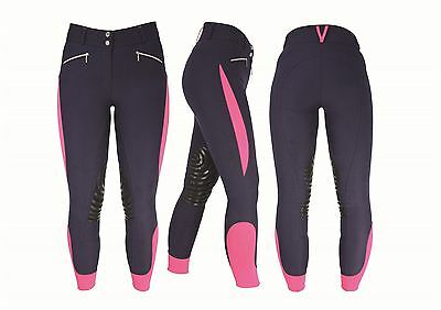 HyPERFORMANCE Sports Active Ladies Breeches Horse Riding Various Colours 11095P