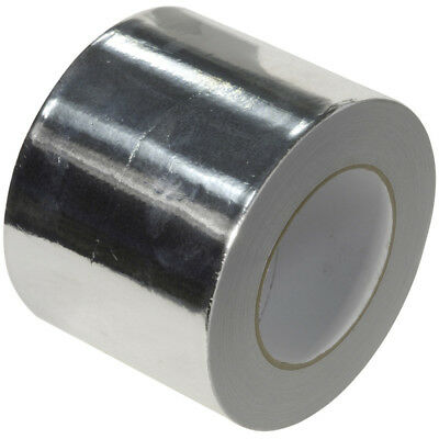 Aluminium Foil Tape Self Adhesive Heat Insulation Tape 48-72-96mm x 50m Celotex