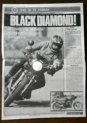 Tune in to Yamaha News Paper Supliment 1983 RD350LC