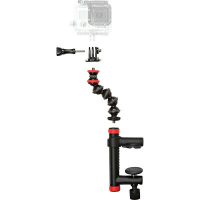 Joby Action Camera Clamp and GorillaPod Arm for GoPro & Action Cameras Camcorder