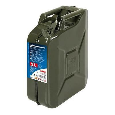 67002 - Tanica carburante tipo militare in metallo - 5 L