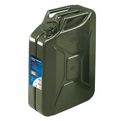 67000 - Tanica carburante tipo militare in metallo - 20 L