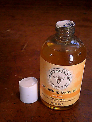 Burt's Bees Baby 100% Natural Baby Nourishing Oil, 4 Ounces