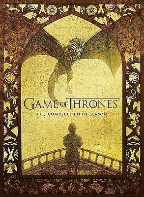 Game Of Thrones : Season 5 DVD, 2016, 5-Disc Set R4 New & Sealed
