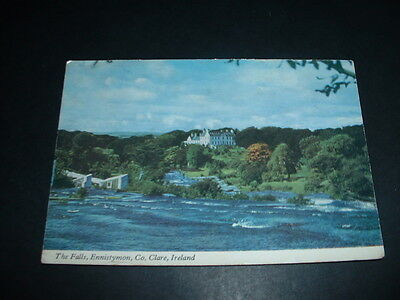 IRELAND  POSTCARD  THE FALLS ENNISTYMON Co CLARE