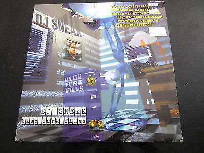 "DJ SNEAK ""BLUE FUNK FILES"" 2 x LP + BONUS 12"""