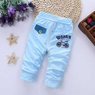 Kids Baby Boys Clothes Clothing Casual Pants Infant Boy Summer Sports Trousers