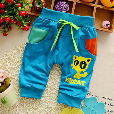 Infant Kids Baby Boys Clothes Clothing Pants Trousers Toddler Boy Summer Shorts