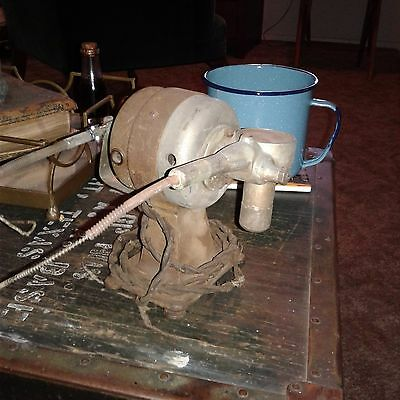 RARE Antique Hosiery Motor-Mend Corp machine 1920's-30's for that avid collector