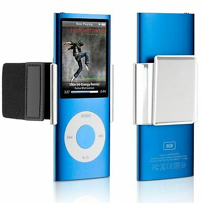 Philips DLA66003D/10 iPod Nano 4G 5G Snap-On Clip plus Armband