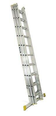 Lyte Trade Aluminium Extension Ladders - Double & Triple EN131 Sections
