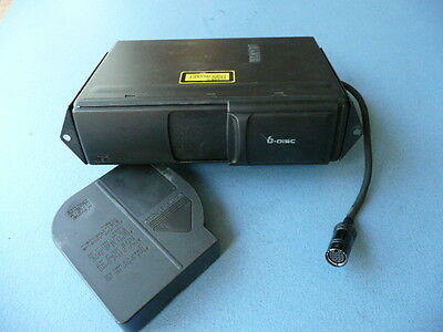 Ford Galaxy 6 Disc Cd Changer With Magazine - Part No 4D0035111A (Ref 2371)