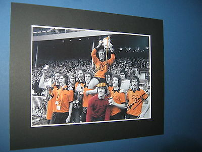 Wolverhampton Wanderers League Cup Winners 1974 Signed Pre Printed Wolves