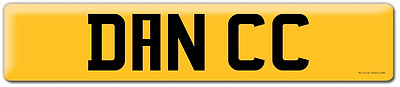 Cherished Private Number Plate Dance Dancer Dan Cabriolet Convertible D11NCC