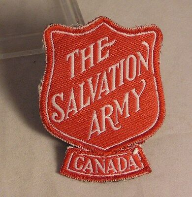 Salvation Army - CLOTH PATCH - RED SHIELD - CANADA