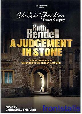 A Judgement In Stone - 2017 - Churchill Theatre, Bromley - Andrew Lancel