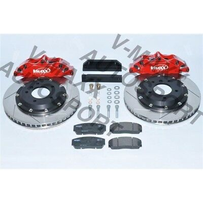 4 Kolben Sport Bremsen Set 330mm BMW E36 Compact Big Brake