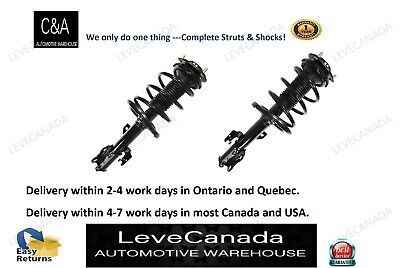 07-11 Toyota Camry (2) Front Quick Complete Struts & Coil Spring Assembly