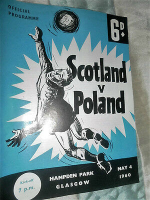 1960 Scotland V Poland International