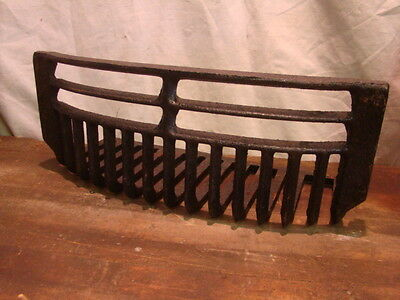Vintage/Antique LATE 1800'S Cast Iron Fireplace Grate Insert Log Holder