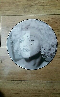 """Madonna Hanky Panky 12"""" Uk Limited Edition Vinyl Picture Disc + Poster W9789Tp"""