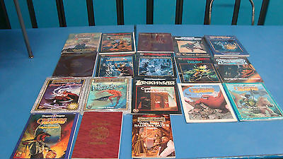 15 New Never Used Books Accessories Balder's Gate 2 Dungeons & Dragons 2.0 AD&D!
