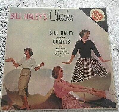 """Bill Haley and his Comets Bill Haley's Chicks 12"""" Ace Of Hearts AH66 1964"""